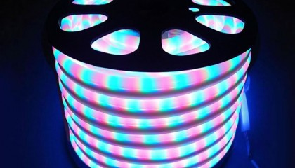 Led NEON Flex, RGB, 220V, 100Led/m, 2m